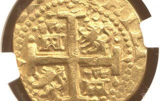 Lima1717E8MS60cr goldcob coin