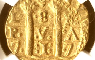 Lima1717E8MS62pil goldcob coin