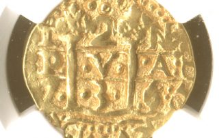 Lima1736E2pil goldcob coin