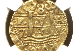 Lima1738s goldcob coin
