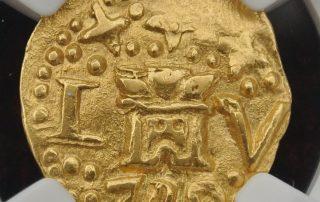 Lima1740E1cas goldcob coin
