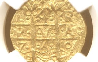Lima1750E4MS64 goldcob coin