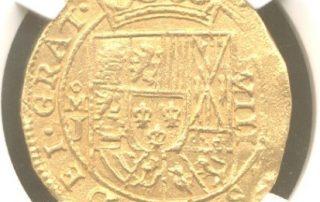 Mexico city 8 Escudos goldcob coin