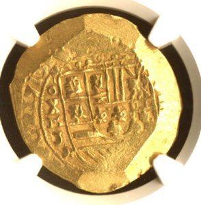 escudos of 1713 - coin 1