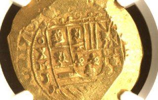 escudos of 1713 - coin 1 goldcob