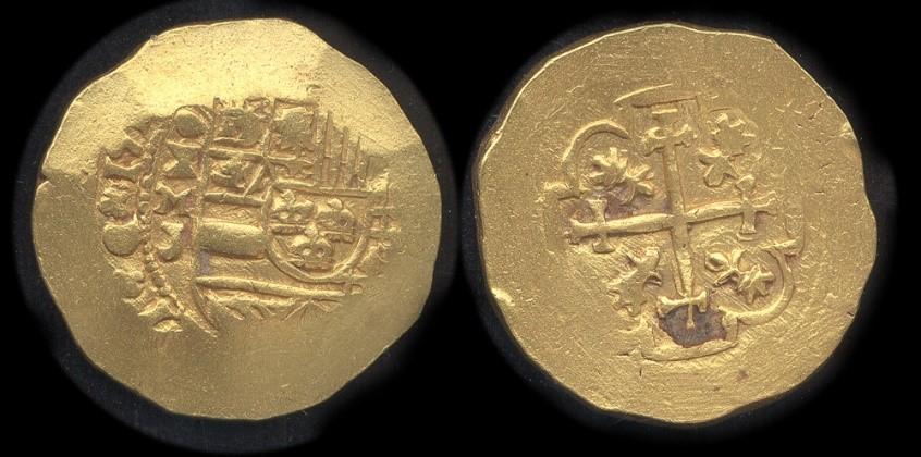 escudos of 1713 - coin 12