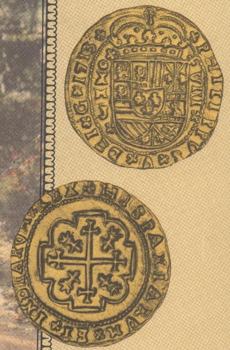 escudos of 1713 - coin 13