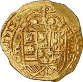 escudos of 1713 - coin 3
