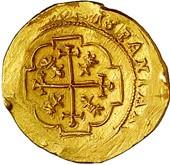 escudos of 1713 - coin 8